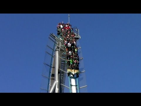 Shambhala off-ride HD PortAventura Park