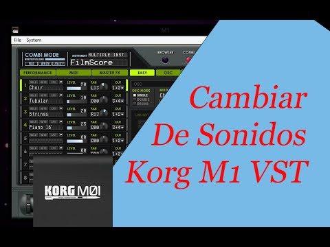 banco de sonidos para korg m1