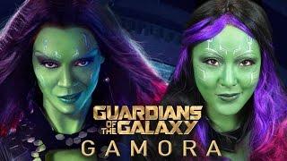 GAMORA | Guardians of The Galaxy Makeup Tutorial Thumbnail