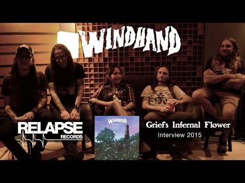 WINDHAND - 'Grief's Infernal Flower' Interview 2015