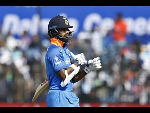 In Graphics: Shikhar Dhawan to miss first three ODI's against Australia