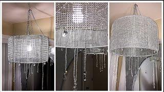 DIY Simple Glam Chandelier