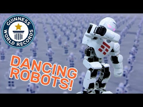 Most robots dancing simultaneously! - Guinness World Records