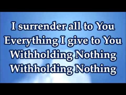 Withholding Nothing medley William McDowell