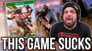 MX vs ATV All Out Review for Xbox One/PS4 - Worst Game of 2018? | RGT 85