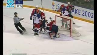 Salt Lake 2002 Semifinal Russia vs USA - Goal?