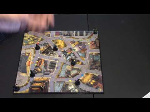 Matt's Boardgame Review Episode 144: Batman: Gotham City Mystery