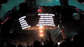 U2 - One Tree Hill live in Auckland #1 (pro-shot clip)