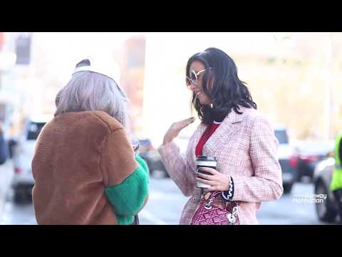 New York Fashion Week Fall/Winter 2018 Street Style Day 1