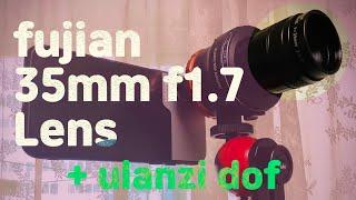 fujian 35mm dslr 렌즈를 스마트폰에 달면 …