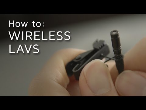 How to Set Up a Wireless Lavalier Mic