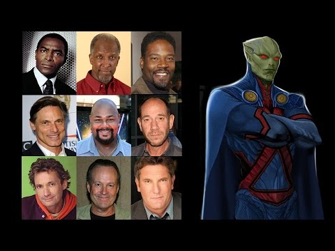 Comparing The Voices  Martian Manhunter