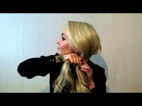 Easy and quick hairstyles for long hair by Mari Piira