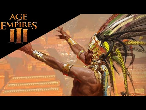 Aztec Party - Age of Empires 3 - Multiplayer Gameplay