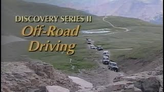 Land Rover Discovery Series II Off-Road Driving