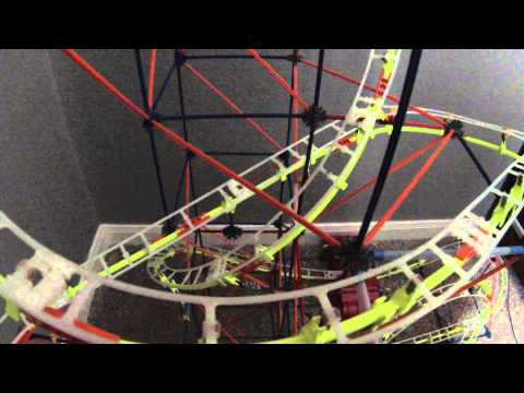 K'nex Supernova Blast Coaster 1080p - YouTube
