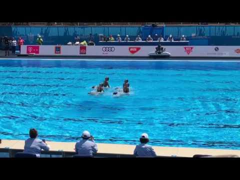 сценка синхронное плавание видео