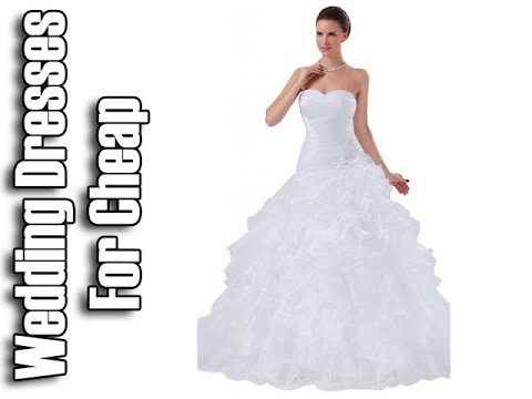 Wedding Dresses For Cheap Under 500