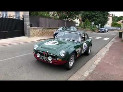 MGB GT V8 SEBRING 1er Tour De Roues