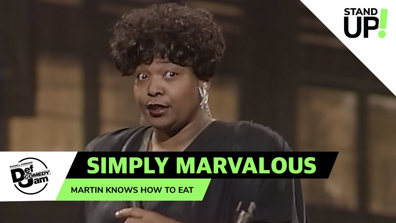 Simply Marvalous and Martin Lawrence Have A Secret History | Def Comedy Jam | LOL StandUp!