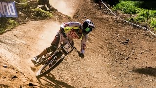 MTB Downhill Finals in Switzerland - UCI Mountain Bike World Cup 2015