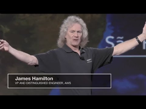 AWS re:Invent 2016: Introduction to Amazon Global Network and CloudFront PoPs with James Hamilton