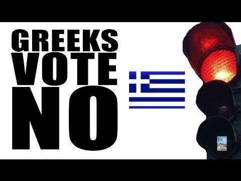 Greece Votes NO in Referendum Against Austerity as EU Crisis Escalates!