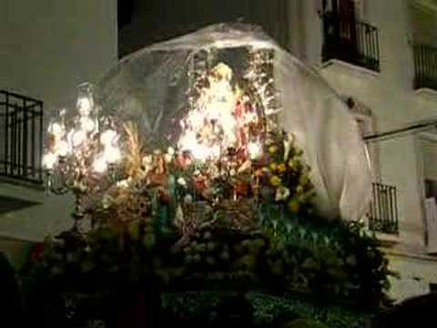 Fiestas de Mayo 2007.-Paso de la Patrona por Plaza de España