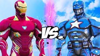 Iron Man (Mark 50) VS Captain America (Civil Warrior Armor)