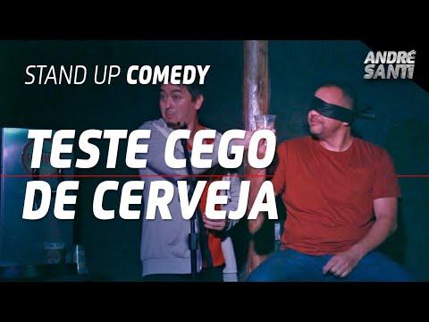 TESTE CEGO NUM SHOW DE STAND UP | André Santi | Stand Up Comedy