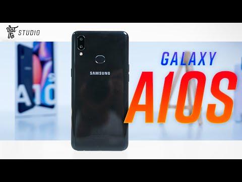 Mở hộp đánh giá nhanh Samsung Galaxy A10s