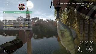Fishing planet PS4| Соревнование Охота на Золотую Рыбку \ Yellow Perch Goldrush