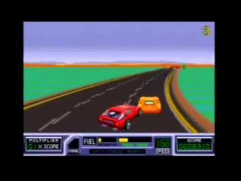 Roadblasters Arcade Gameplay