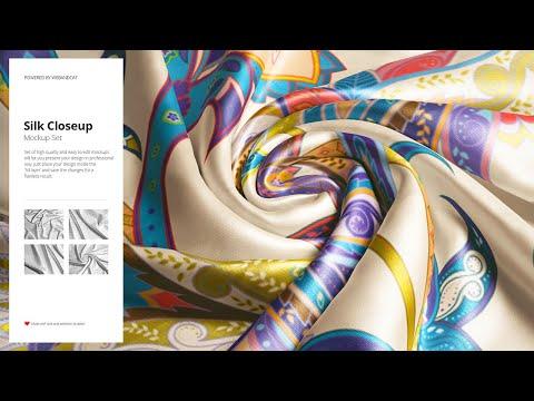 Silk Closeup Mockup Set