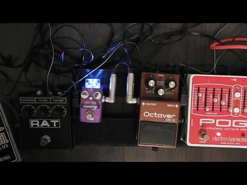 PlugNPlay (PNP): Hotone Octa comparison with EHX POG2 and Boss OC2