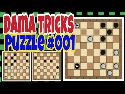 How To Win On Checkers-Dama-Draughts-Shashki Situational Tutorials 001