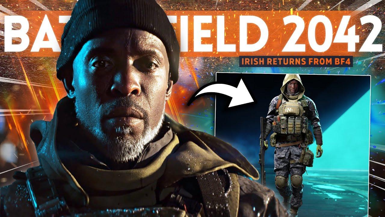 "Battlefield 2042 New Specialist ""Irish"" RETURNS from Battlefield 4!"