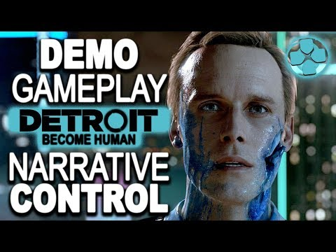 Detroit Become Human 🔴 Hostage Demo | Narrative Control | PS4 Pro Gameplay 1080p