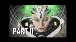 MORTAL KOMBAT 11 Walkthrough Part 11 - Kronika's Crown (MK11 Story Let's Play Commentary)