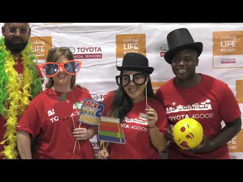 Toyota Financial Services Supports Boys & Girls Club with New Backpacks