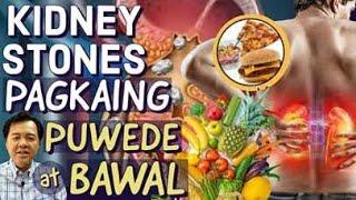 Kidney Stones: Pagkaing Pwede at Bawal - Payo ni Doc Willie Ong