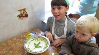 Сырный салат. Детские рецепты от Ириши.