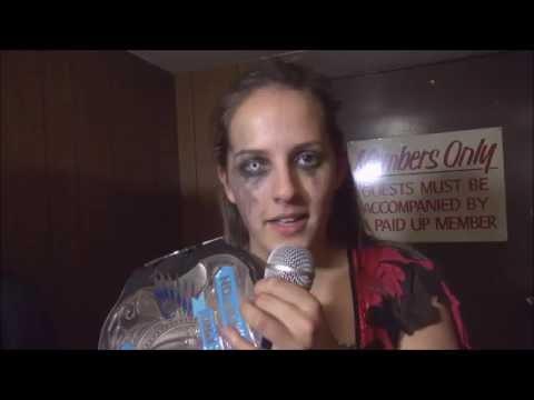 Resistance Pro Wrestling: Crazy Mary Dobson Sabotage Promo
