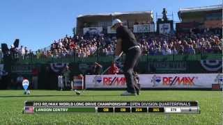 2012 REMAX World Long Drive Championship Powered By Dick