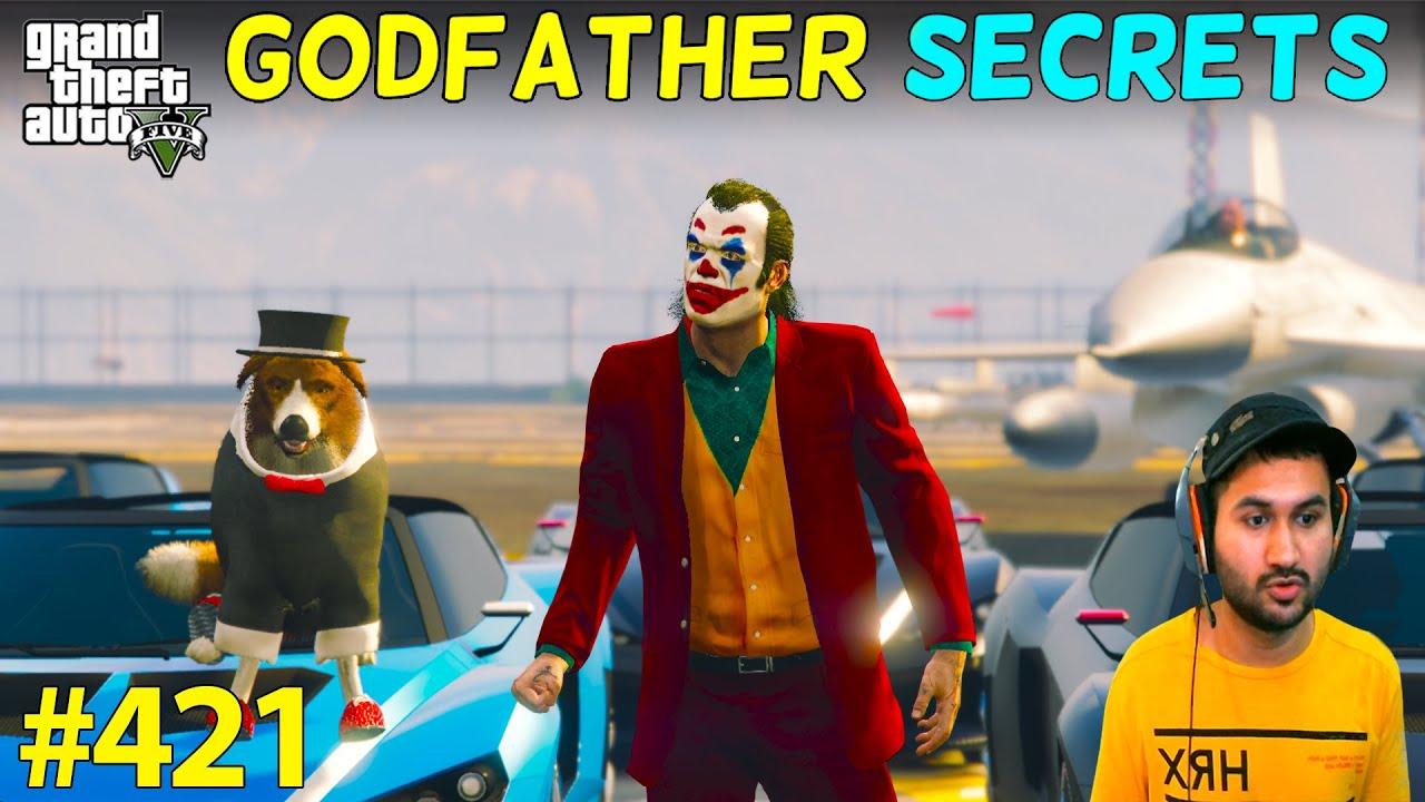 GTA 5 : SECRETS OF GODFATHER | GTA5 GAMEPLAY #421