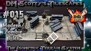 Modern/Zombie Apocalypse Tiles for Table Top Games (DM Scotty