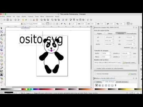Como hacer dibujos en la computadora con Inkscape  Parte 10  YouTube