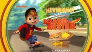 Alvinnn!!! And the Chipmunks Board Buster Game Nick JR
