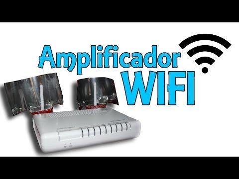 Amplificador WIFI con latas