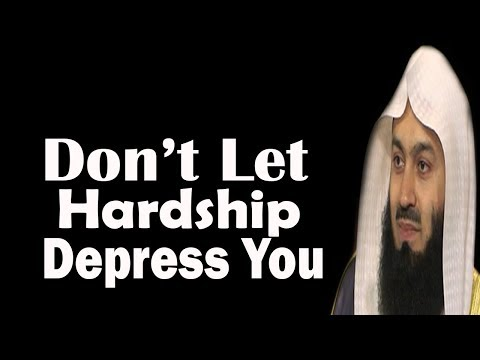 Hardships In Life Start From The Point Of Birth | Mufti Menk